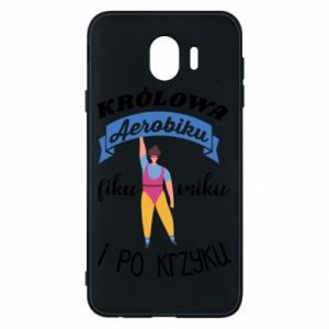 Phone case for Samsung J4 The Queen of aerobics