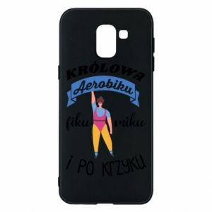 Phone case for Samsung J6 The Queen of aerobics