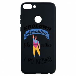 Phone case for Huawei P Smart The Queen of aerobics