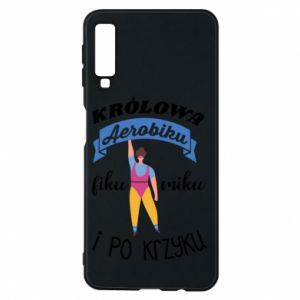 Phone case for Samsung A7 2018 The Queen of aerobics