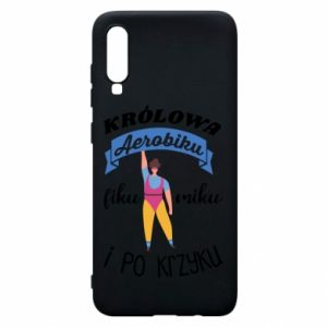 Phone case for Samsung A70 The Queen of aerobics