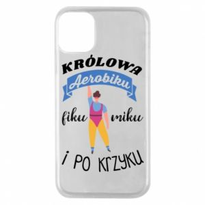 Phone case for iPhone 11 Pro The Queen of aerobics