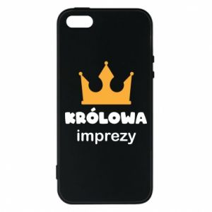 Phone case for iPhone 5/5S/SE Queen of the party - PrintSalon