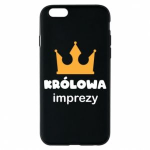 Phone case for iPhone 6/6S Queen of the party - PrintSalon