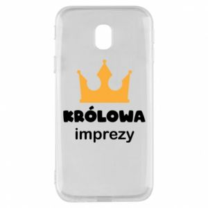 Phone case for Samsung J3 2017 Queen of the party - PrintSalon