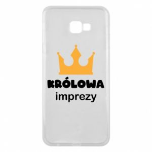 Phone case for Samsung J4 Plus 2018 Queen of the party - PrintSalon