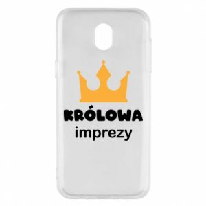 Phone case for Samsung J5 2017 Queen of the party - PrintSalon