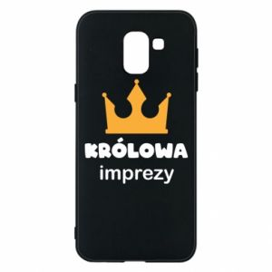 Phone case for Samsung J6 Queen of the party - PrintSalon