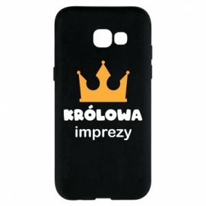 Phone case for Samsung A5 2017 Queen of the party - PrintSalon