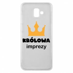 Phone case for Samsung J6 Plus 2018 Queen of the party - PrintSalon