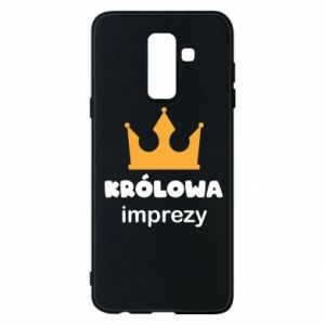 Phone case for Samsung A6+ 2018 Queen of the party - PrintSalon