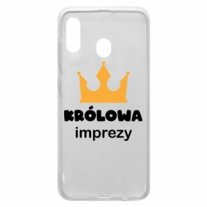 Phone case for Samsung A20 Queen of the party - PrintSalon