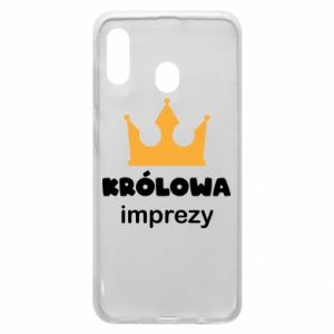Phone case for Samsung A30 Queen of the party - PrintSalon