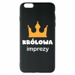 Phone case for iPhone 6 Plus/6S Plus Queen of the party - PrintSalon