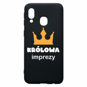 Phone case for Samsung A40 Queen of the party - PrintSalon
