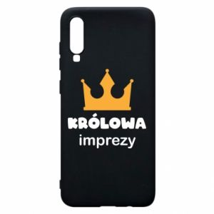 Phone case for Samsung A70 Queen of the party - PrintSalon