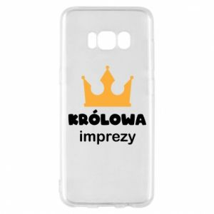Phone case for Samsung S8 Queen of the party - PrintSalon