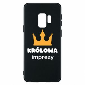 Phone case for Samsung S9 Queen of the party - PrintSalon