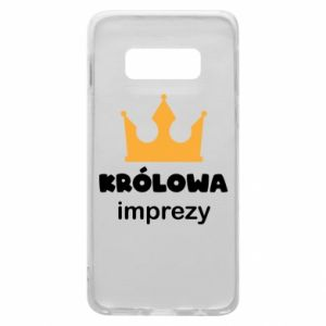 Phone case for Samsung S10e Queen of the party - PrintSalon
