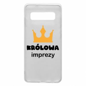 Phone case for Samsung S10 Queen of the party