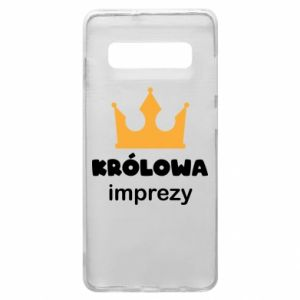 Phone case for Samsung S10+ Queen of the party - PrintSalon