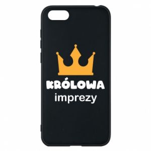 Phone case for Huawei Y5 2018 Queen of the party - PrintSalon