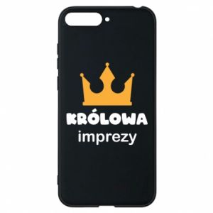 Phone case for Huawei Y6 2018 Queen of the party - PrintSalon