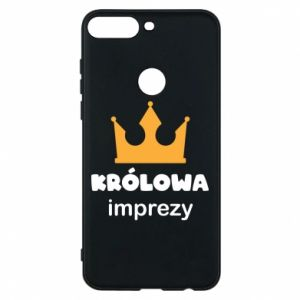 Phone case for Huawei Y7 Prime 2018 Queen of the party - PrintSalon