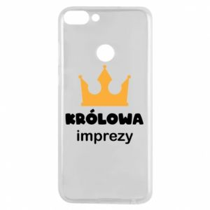 Phone case for Huawei P Smart Queen of the party - PrintSalon