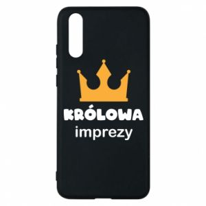 Phone case for Huawei P20 Queen of the party - PrintSalon