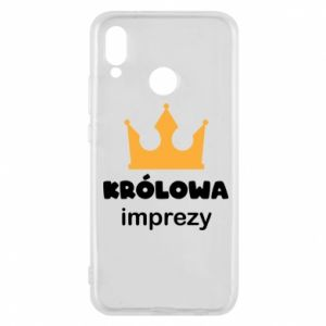Phone case for Huawei P20 Lite Queen of the party - PrintSalon
