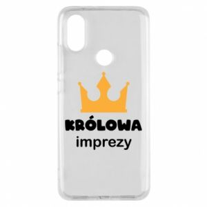 Phone case for Xiaomi Mi A2 Queen of the party - PrintSalon