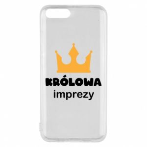 Phone case for Xiaomi Mi6 Queen of the party - PrintSalon