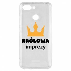 Phone case for Xiaomi Redmi 6 Queen of the party - PrintSalon
