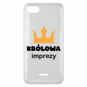 Phone case for Xiaomi Redmi 6A Queen of the party - PrintSalon