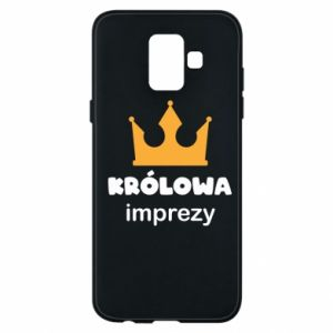 Phone case for Samsung A6 2018 Queen of the party - PrintSalon
