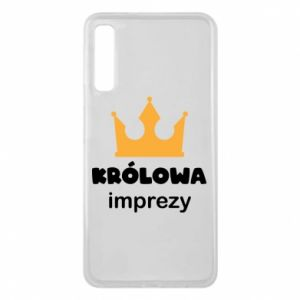 Phone case for Samsung A7 2018 Queen of the party - PrintSalon