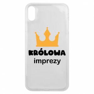 Etui na iPhone Xs Max Królowa imprezy