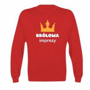 Bluza dziecięca Królowa imprezy