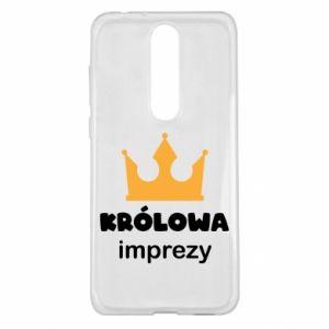 Etui na Nokia 5.1 Plus Królowa imprezy
