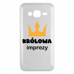 Phone case for Samsung J3 2016 Queen of the party - PrintSalon