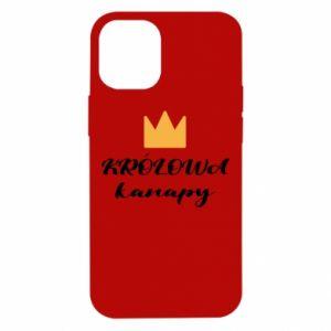 Etui na iPhone 12 Mini Królowa kanapy