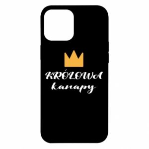 Etui na iPhone 12 Pro Max Królowa kanapy
