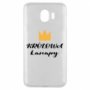 Phone case for Samsung J4 The queen of the couch - PrintSalon
