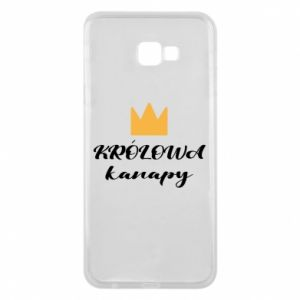 Phone case for Samsung J4 Plus 2018 The queen of the couch - PrintSalon