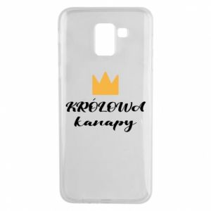 Phone case for Samsung J6 The queen of the couch - PrintSalon