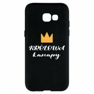 Phone case for Samsung A5 2017 The queen of the couch - PrintSalon