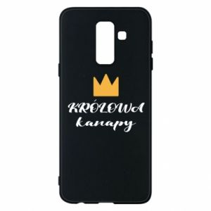 Phone case for Samsung A6+ 2018 The queen of the couch - PrintSalon