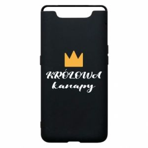 Phone case for Samsung A80 The queen of the couch - PrintSalon