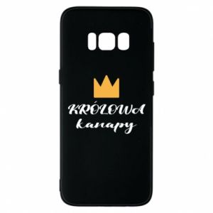 Phone case for Samsung S8 The queen of the couch - PrintSalon